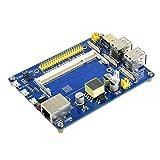 Xigeapg Erweiterungs Karte des Computer Moduls Mehrere Schnittstellen EIN Bord mit Poe Ethernet für Raspberry Pi Cm3 / 3Lite / 3/3 +