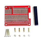 Yaootely Fuer Raspberry Pi 3 Modul B HOED/Gat Plaat Prototyping Board PI3 / PI2 HAT/Lochplatte W/Prototyping Board DIY Kit