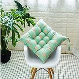 Sarah Duke Sitzkissen 2 Stück Stuhlkissen Sitzauflage Gartenstuhlkissen, Sitzkissen für Innen- und Außenbereich (01,40 x 40 cm)
