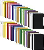 2x 13 Schnellhefter Kunststoff Hefter aus PP Brunnen in 13 Farben (26 Schnellhefter)