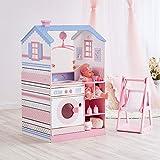 Olivia's Little World Olivia's Little World Teamson Kids 18 Zoll Babypuppen Holz-Puppenhaus doppelseitig Nursery TD-11460W