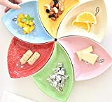 MAXFANX Creative Home Teller Set Geschirr Set Deep Plate Dish Keramik Creative Dinner Teller...