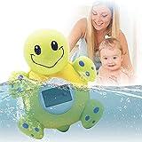 GXT Badethermometer und Uhr, Bade-Thermometer, Baby-Thermometer, Baby-Dusche, digitales Thermometer, Badewannenspielzeug, bequem und schnell