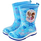 Zhongxingenggeng Disney Kinder Regenstiefel Jungen Mädchen Grundschule Studenten Anti-Rutsch Gummistiefel Kinder Baby Regenschuhe, blau, 37 Yards