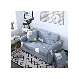 Cheryl Norri Big Elastic Sofa Cover All Inclusive Anti Haustiere Sofabezüge Sitz Couch Covers Sofa Handtuch, K449, Ab 230-300Cm