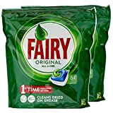 Fairy Original All in One Geschirrspültabs 84 Tabs - 2 Stück pro Pack