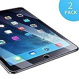 SUERW Panzerglasfolie Kompatibel mit iPad Air 1/ Air 2/ iPad Pro 9.7 - 2 Stück Schutzfolie Kompatibel mit iPad Air 1/ Air 2/ iPad Pro 9.7 [0,33 mm HD Ultra,9H Härtegrad]