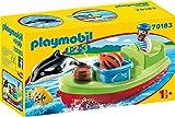 Playmobil 70183 1.2.3 Seemann mit Fischerboot, bunt
