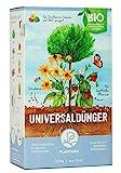 Plantura Bio Universaldünger mit 3 Monaten Langzeitwirkung, Pflanzendünger, 1,5 kg, für kraftvolle Pflanzen, 100% tierfrei & Bio, gut für den Boden, unbedenklich für Haus- & Gartentiere, Naturdünger