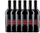 6er Paket - TANK No 26 Appassimento Nero d'Avola IGT 2016 - Cantine Minini | trockener Rotwein | italienischer Rotwein aus Sizilien | 6 x 0,75 Liter