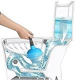 LCFF WC-Saugglocke Toilettenkolben Luftstrom-Abflussreinigung Saugglocke für Toilette bei Verstopfungen Nicht leicht zu beschädigen Saugglocke zum Abfluss reinigen