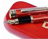 Dryden Luxus Füllfederhalter Füller Kaligraphie Füllhalter mit Tinten-Konverter und Geschenkschachtel   100% Handgefertigt Füllhalter   Füllfederhalter-Set für Führungskräfte