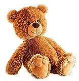 Schaffer Knuddel mich! Schaffer 5401 Plüsch Teddybär Tom, 28 cm, Braun