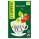 Clipper Organic Fairtrade Green Tea with Strawberry 20 per pack