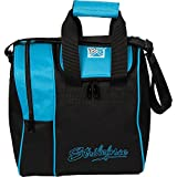 KR Strikeforce Rook Single Bowling Ball Tasche, Aqua