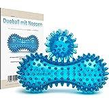 ICEHOF Fussmassageroller - Innovativer Massageball für eine wohltuende Fußmassage - einzigartige Kombination aus Igelball & Fußroller