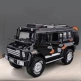Xolye 4-Rad-stoßdämpfender Legierung Off-Road-Polizeiauto-Spielzeug-Sound- und Licht-Effekt-Junge-Spielzeugauto kann die Tür öffnen und das Spielzeugauto von Kinder schieben