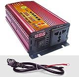 YHDQ Car Power Inverter 500W 1200W 1700W 2200W 3000W 4000W Power Inverter Dual-AC Outlets DC 36V 48V 60V 72V bis 220V AC Auto-Konverter mit Digital-Display36V-4000W, 4000W, 60V Car Power Inverter