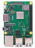 Raspberry 1373331 Pi 3 Modell B+ Mainboard, 1GB