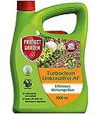 PROTECT GARDEN Turboclean Unkrautfrei AF (ehem. Bayer Garten), anwendungsfertiger Unkrautvernichter gegen alle Unkräuter, 3 Liter