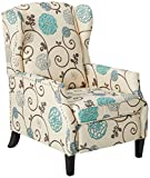 Christopher Knight Home Westeros Relaxsessel White & Blue Floral