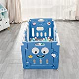 Kinderspiel Zaun Indoor Faltbare Babyplaypen Kinder Activity Center Sicherheit spielen Yard...