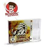 20 Klarsicht Schutzhüllen für Nintendo 3DS Games in Originalverpackung - Passgenau und Glasklar - PET - Retro-Doc Game Protectors - Extra Laschen - Bessere Optik - Cases - Box