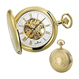 Dugena Herren-Armbanduhr Mechanische Taschenuhr Analog Handaufzug 4460307