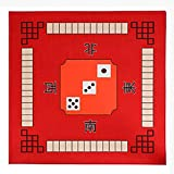 rutschfeste Mahjong Tabelle Cover, Dedicated Mahjong Table Mat Für...