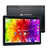 ACEPAD A121 (10.1') 3G Tablet PC, 2GB RAM, 64GB Speicher, Android 9.0 Pie, Dual-SIM, IPS HD 1280x800, Quad Core CPU, WiFi/WLAN/Bluetooth, microUSB/microSD (Alu-Schwarz)