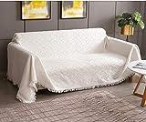 RHF Stuhlhusse, Stuhlhusse, Stuhlhusse, Stuhlhussen für Wohnzimmer, Stuhlbezug für Hunde, Stuhlschutz, maschinenwaschbar, Doppel-Diamant, gesteppt (Stuhl: Schokoladenbraun) Large beige