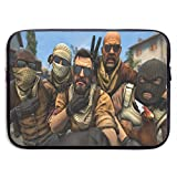 Hdadwy Spielthema Lustige Gangster Cs Go Bandit Laptop-Ärmeltasche Tablet Aktentasche Ultraportable...