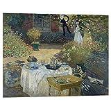Kuader Il Manneport Bogen im Westen von Etretat, Claude Monet -100 x 80 cm