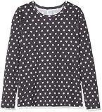 Sanetta Mädchen Shirt Schlafanzugoberteil, Grau (Dark Slade 1770.0), 152