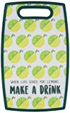 Livin' on the Wedge Limes oder Zitronen When Life Gives You Lemons Machen A Drink Logo Gemustert...