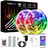 LED Strip, L8star LED Streifen Farbwechsel Led Lichterkette 20M RGB Flexible LED Bänder Strips mit...