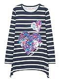 Desigual Mädchen TS_CHIVITE T-Shirt, Blau (Marino 5001), 140 (Herstellergröße: 9/10)
