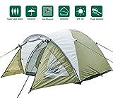 Climecare Kuppelzelt 2-3-4 Personen, Zelte 3 Jahreszeiten Kuppelzelt Outdoor Campingzelt Iglu-Zelt,doppelschichtig Wasserdichtes, 210x210x135cm