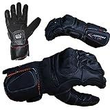 PROANTI Winter Motorradhandschuhe Winter Racing Motorrad Handschuhe Größen S-XXL