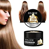 Haarpflege Spülung Entgiftende Haarmaske Advanced Molecular Hair Roots Treatment Recovery Elasticity Hair Haar Glättung Spülung Haarspülung Conditioner (Schwarz)