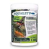 aquality Teichreiniger & Teichschlammentferner (Wirkt innerhalb von Minuten - Teichschlamm, Laub, Futterreste und Tannennadeln), Inhalt:1 kg