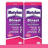 Metylan Direct Tapetenkleister für Vlies-Tapeten 2x 200g, Pulver