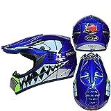 Berrd Motorradhelm Männer und Frauen Full Face Downhill-Cross-Country-Helm DH Fahrrad Cross-Helm ausgezeichnete Belüftungssystem - 3 XM