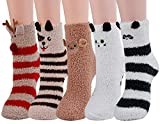 Zoylink Kuschel Socken, Flauschige Socken Bettsocken Damen Warme Socken Damen Socken