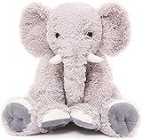 Beofine Kinder Elefant Plüsch Puppe, 19,6 Zoll Stuffed Elephant Tier Weiche Riesen Elefant Plüsch-Geschenk-Rosa Elefant Stofftier Plüschtier Baby Spielzeug und Plüschtier Grey
