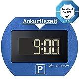 Needit Park Lite 1411 Vollautomatische Parkscheibe, Blau