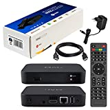 MAG 322 Original Infomir & HB-DIGITAL IPTV Set TOP Box Multimedia Player Internet TV IP Receiver (HEVC H.256 Support) Nachfolger von MAG 254 + HB Digital HDMI Kabel