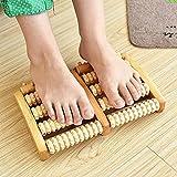 Fußmassageroller für Doppelfüße, Fußmassagegerät, Fußschmerzen und Druckentlastung