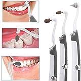 BCBKD Professionelle Zahnreinigung Zahnsteinentferner Mit LED-Licht Zahnreinigung Tragbare Sonic Dental Tool Kit Mundhygiene Care Tools 3 Alternative Polierköpfe