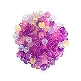 Rosenice Bastelperlen,  Farbwechsel bei Sonneneinstrahlung, für die Schmuckherstellung,1000 Stück